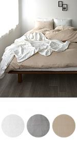 綿100%ダブルガーゼふわふわ暖かい和晒し掛け布団カバー