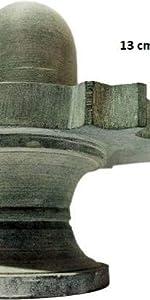 stone shivling grey shivratri pujan