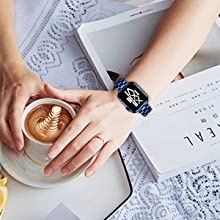 Elegant daily watch strap