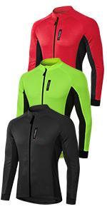 mens Long Sleeve Cycling Jerseys