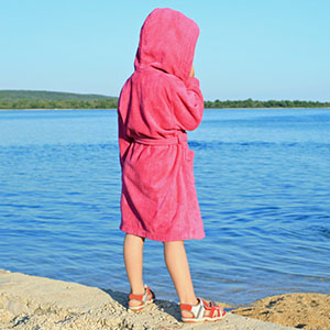 pool bathrobe