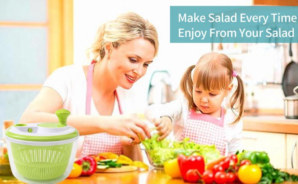 salad spinner lettuce dryer kitchen