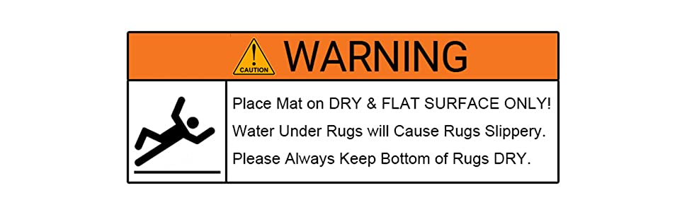 Bathroom Rugs Non-Slip Water Absorbent