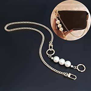 pearl extender for purse chain