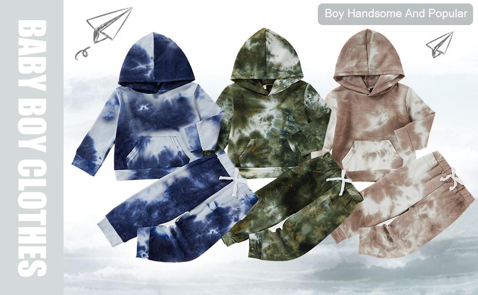 baby boy tie dye clothes