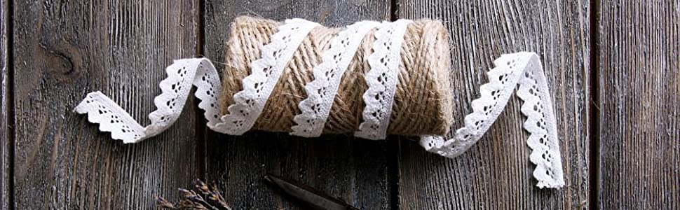 This twine is strong, but not rough, so it does not damage the delicate vines.Longer length