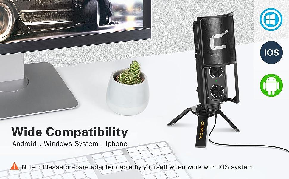 USB microphone