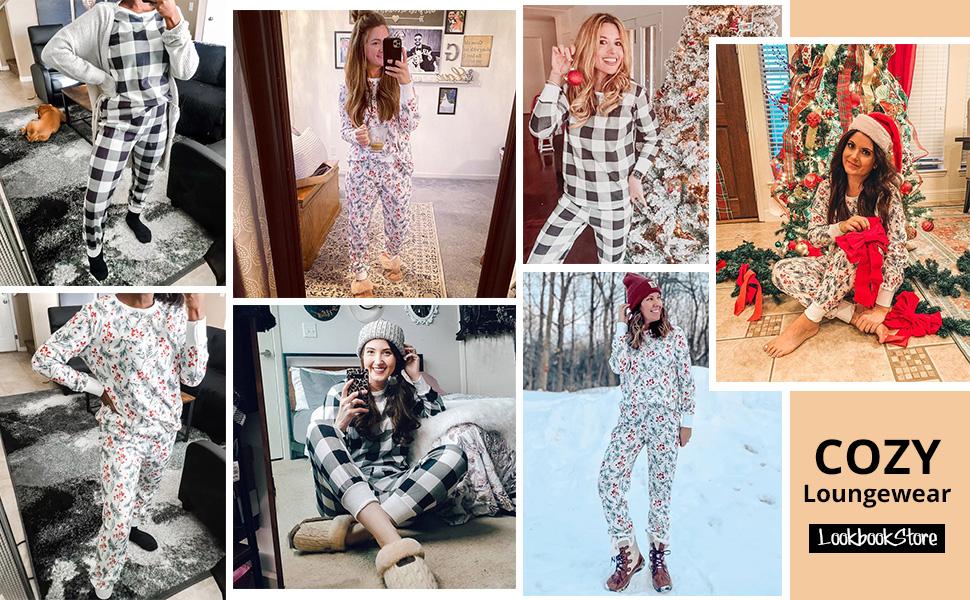 christmas lounge wear