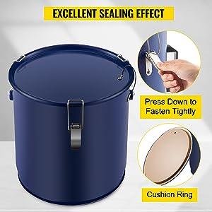 fryer filter drain pot