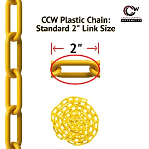 """chain link length is 2"""""""