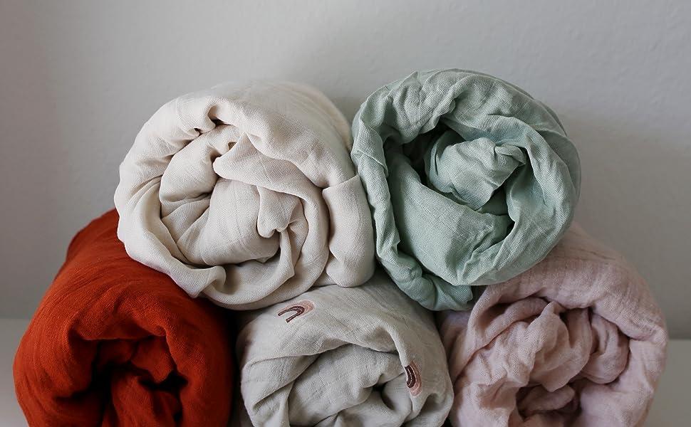 muslin sheets