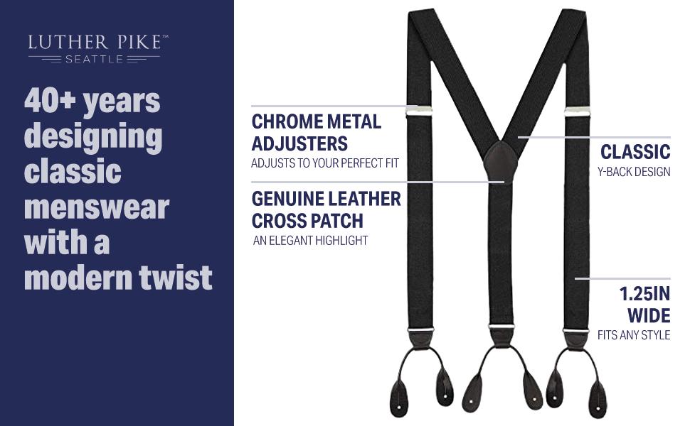 classic menswear with a modern twist