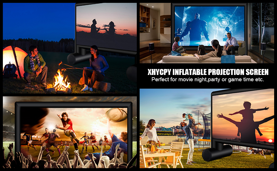 XHYCPY INFLATABLE PROJECTION SCREEN