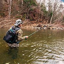 WADERS FISHING