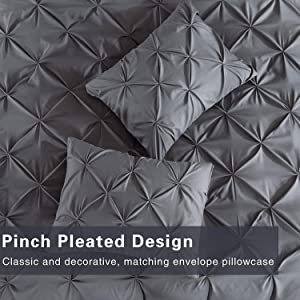 pinch pillow sham