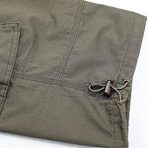 Mens Capri Shorts Casual Capri Long Shorts Below Knee Shorts Men Army Outdoor Camping Summer Shorts