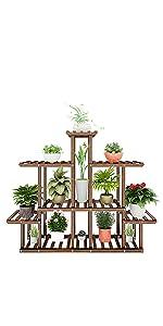 Brown Plant Shelf