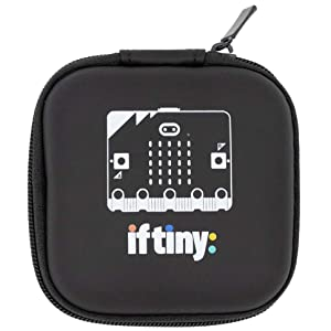 microbit micro bit micro:bit v2 V2 マイクロビット 専用バッグ バッグ ケース チャック付き 携帯しやすい 大きさ プログラミング
