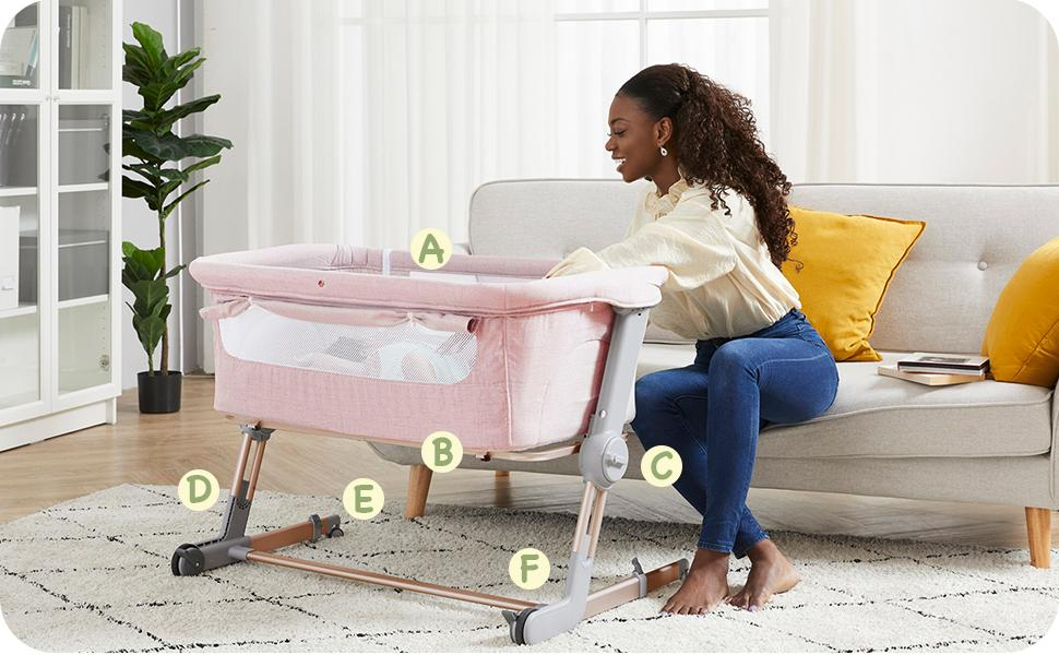 Unilove Portable Travel Crib
