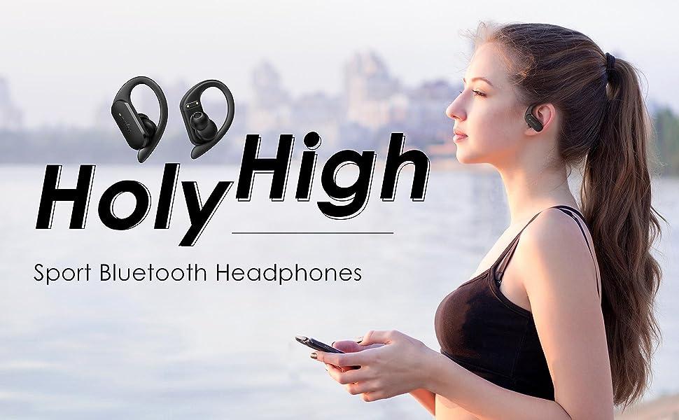 Holyhigh Sport Bluetooth Headphones