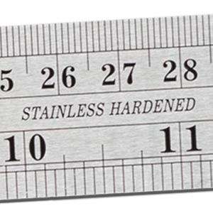 NOKKO stainless steel ruler set is made from high-quality hardened stainless steel.