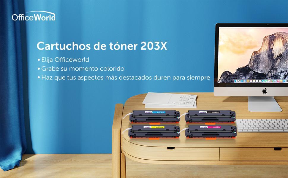 OFFICEWORLD 203X Cartucho de tóner