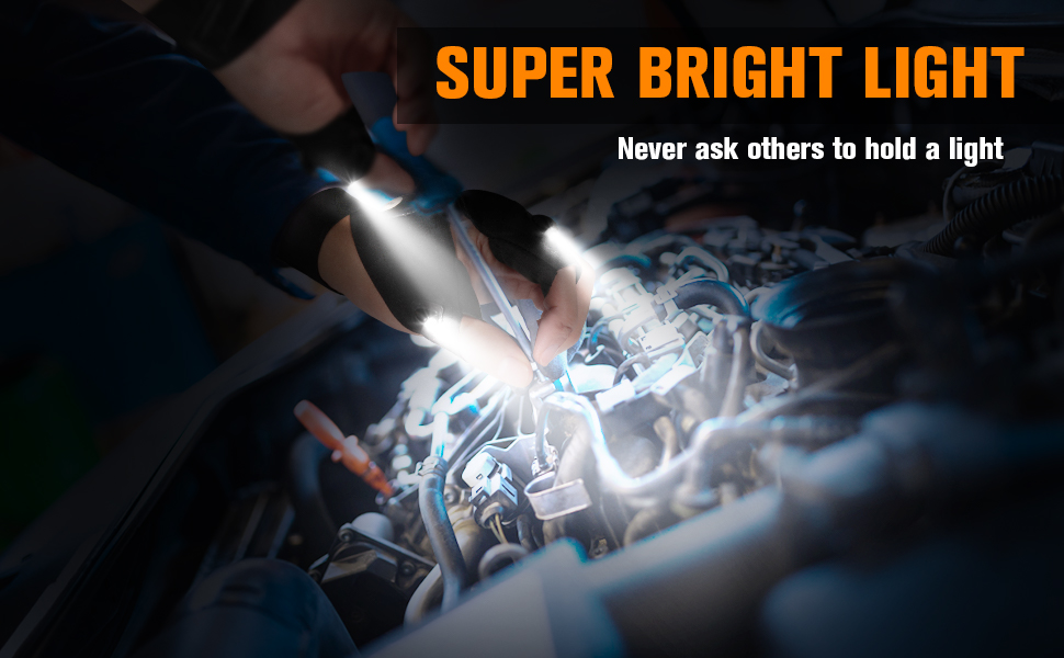 Super bright light