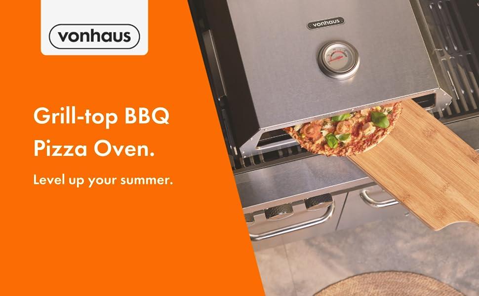 VonHaus Grill-Top BBQ Pizza Oven