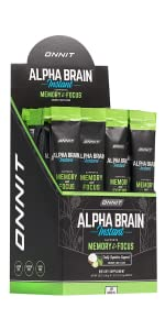 Onnit Alpha Brain Instant - Coconut Lime