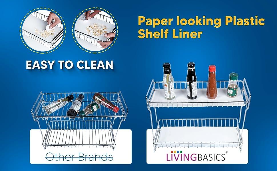 table oil baskets utensils mount mounted plate utensil cart wheels pan drawer hanging organisers