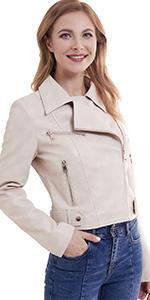 Faux Snakeskin Jacket