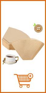 U04 Brown Coffee Filter Paper