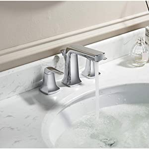 Match with Two Handle Widespread Sink Faucet
