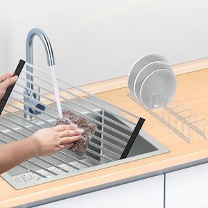 RYNX Dish Drying Rack Kitchen Organizer