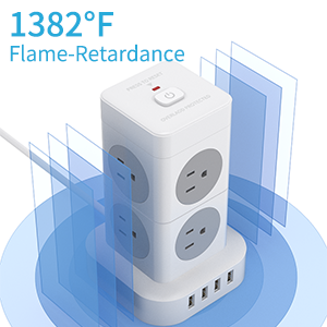 1382°F Fire retardant shell