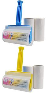 Extra Sticky Lint Roller Remover, Rolling Brush to Remove lint Fuzz Hair, Clean Clothes Furniture