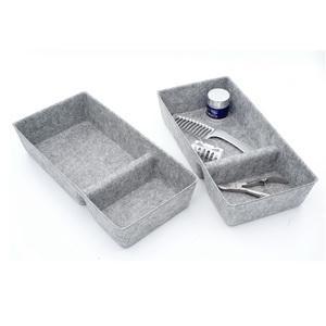 felt storage bin drawer organizer bins for office closet cabinet desk home kitchen pantry