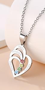 Custom Necklace for Mom