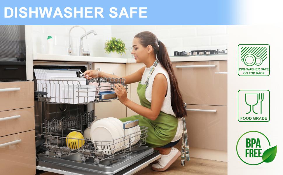 dishwasher safe reusable storage bags