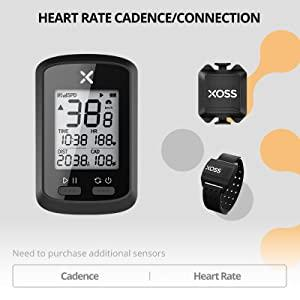 Heart rate cadence/connection