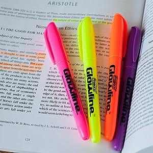 promarx glowline highlighter set work school