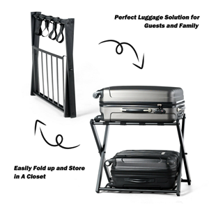 Foldable Rack suitcase luggage stand