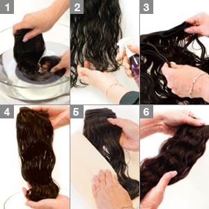Human Hair - Washing