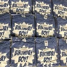 Happy Family Clothing Superhero Birthday Boy T-shirts