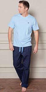 pyjama bottoms brushed cotton loungewear lounge wear nightwear night wear dressing gown match style
