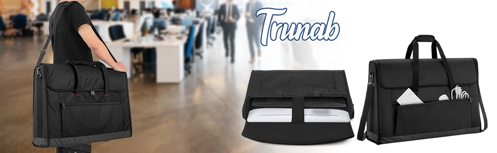 Trunab Dual Monitor Carrying Case 24-27 Inch