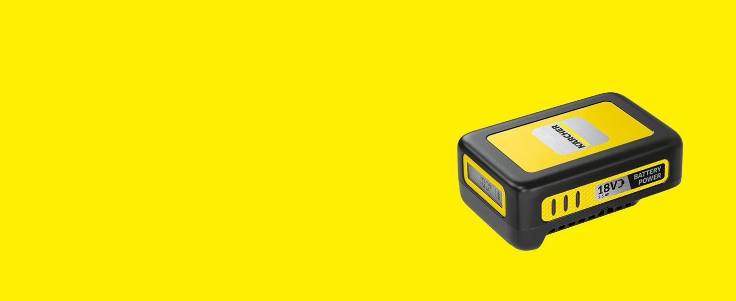 Batería de repuesto de 18 V/2,5 Ah