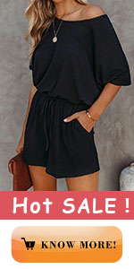 One Piece Shorts Set Rompers