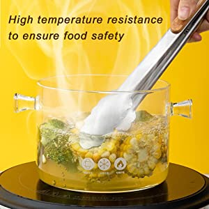 Ensure safe eating and easy cleaning