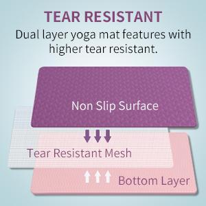 wide yoga mat